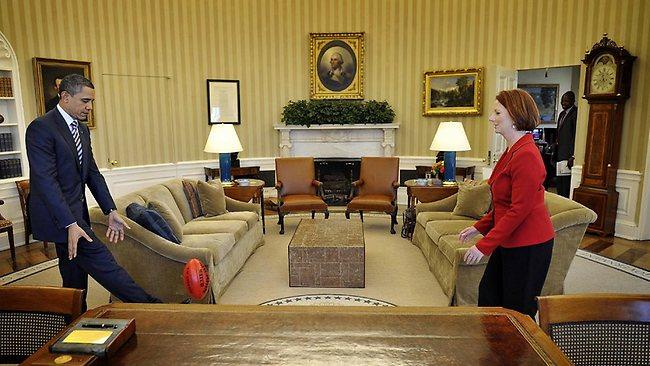 Obama's a FootyFan