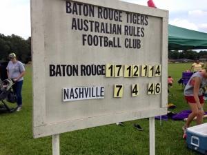 BR Tigers Vs Nashville score